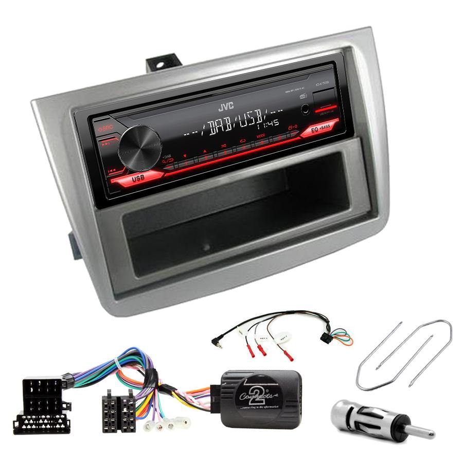 Kit d\'intégration Alfa Romeo Mito de 2008 à 2014 + Poste 1DIN USB/Bluetooth
