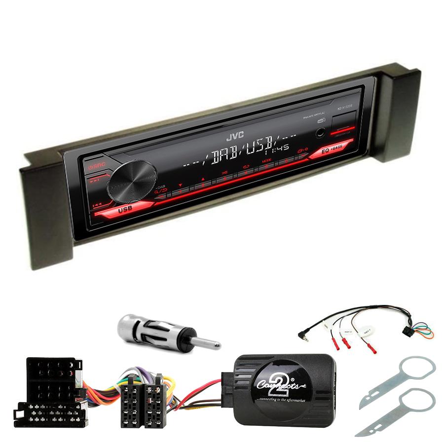 Kit d\'intégration Audi A3 et Audi A6 + Poste 1DIN USB/Bluetooth