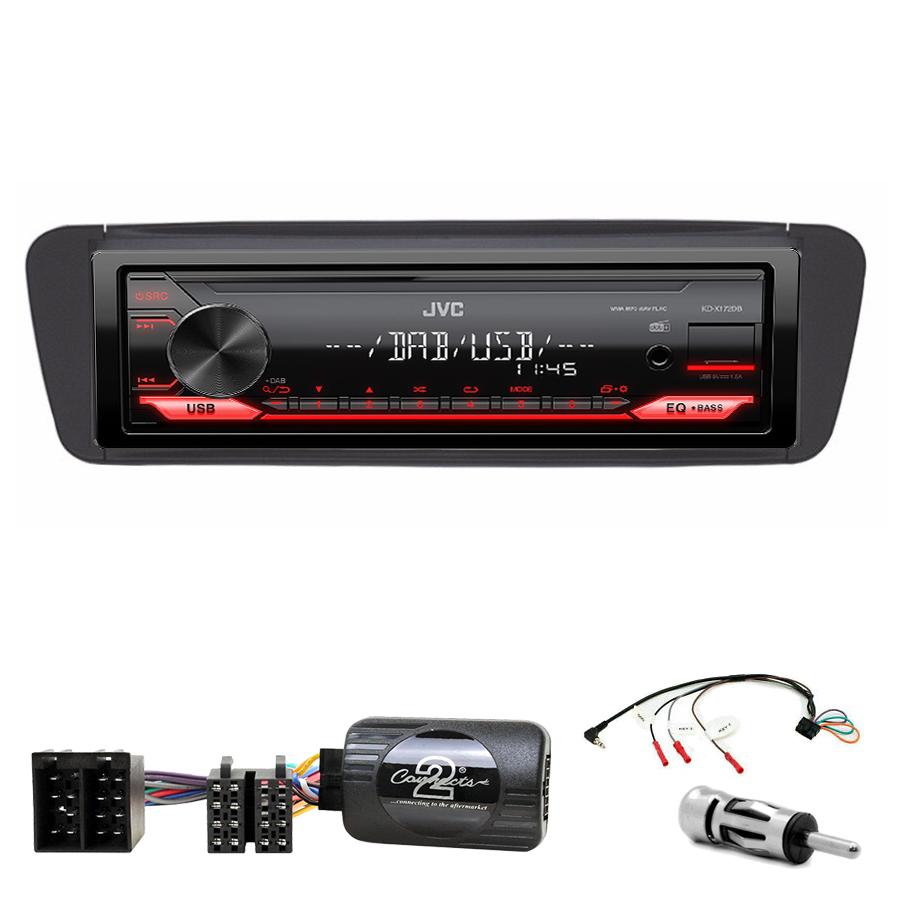 Kit d\'intégration Citroën Xsara et Xsara Picasso + Poste 1DIN USB/Bluetooth