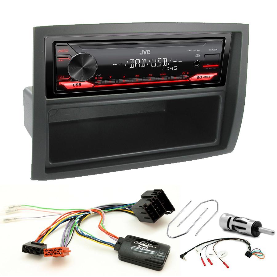 Kit d\'intégration Peugeot Boxer depuis 2006 + Poste 1DIN USB/Bluetooth
