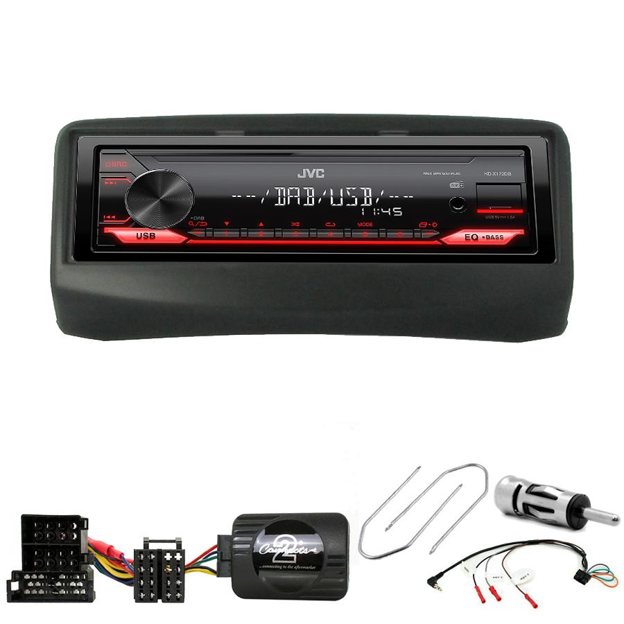 Kit d\'intégration Fiat Multipla de 1999 à 2010 + Poste 1DIN USB/Bluetooth