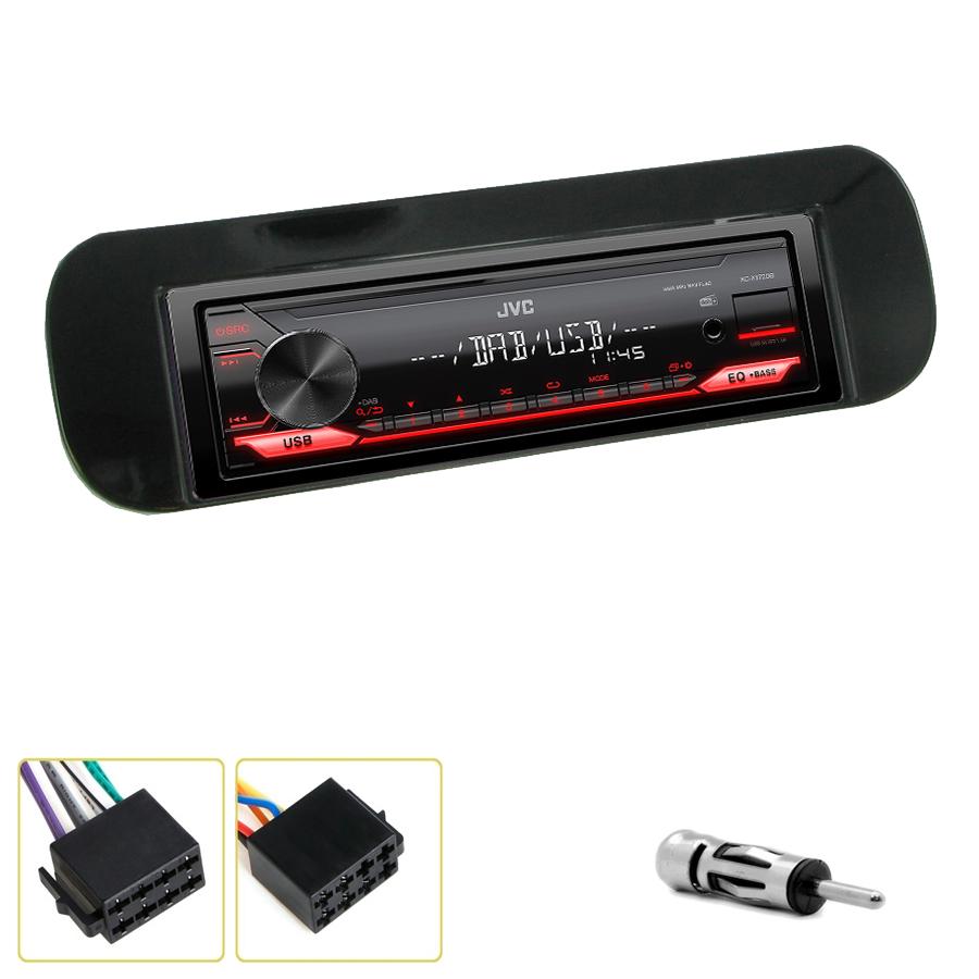 Kit d\'intégration Fiat Panda depuis 2012 et Panda S-Cross depuis 2014 + Poste 1DIN USB/Bluetooth