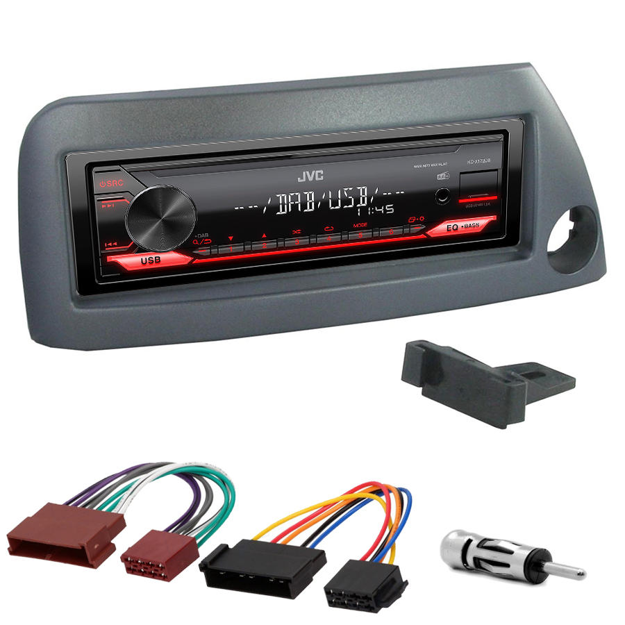 Kit d\'intégration Ford Ka de 1999 à 2008 + Poste 1DIN USB/Bluetooth