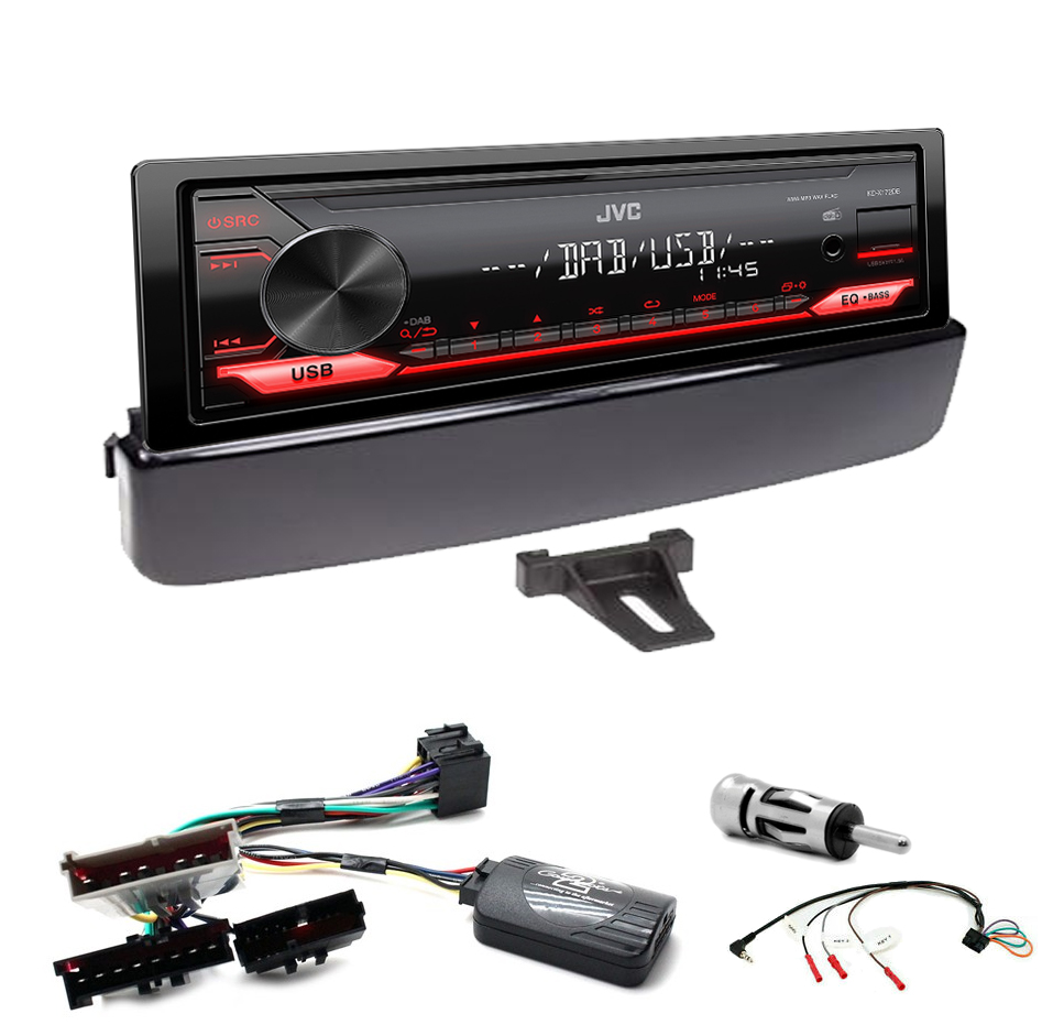 Kit d\'intégration Jaguar Type S De 1999 à 2002 + Poste 1DIN USB/Bluetooth