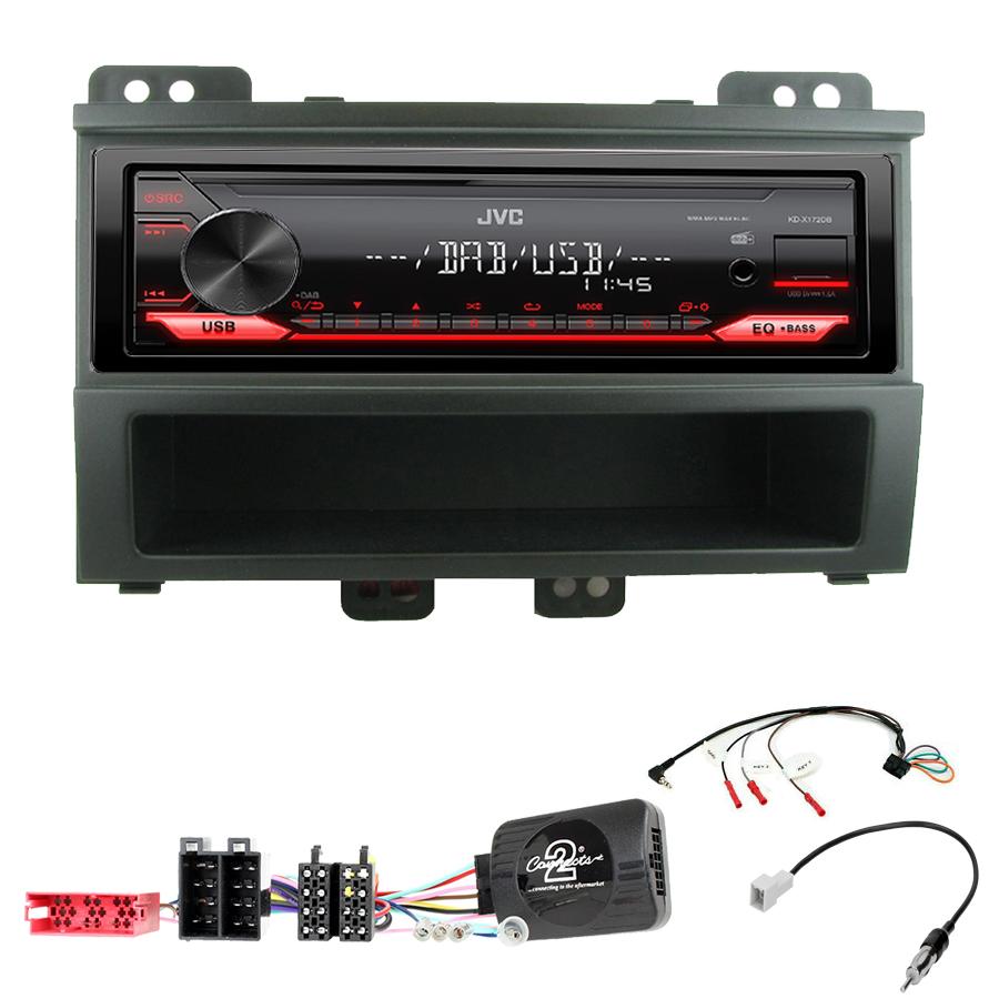 Kit d\'intégration Hyundai i20 de 2008 à 2012 + Poste 1DIN USB/Bluetooth