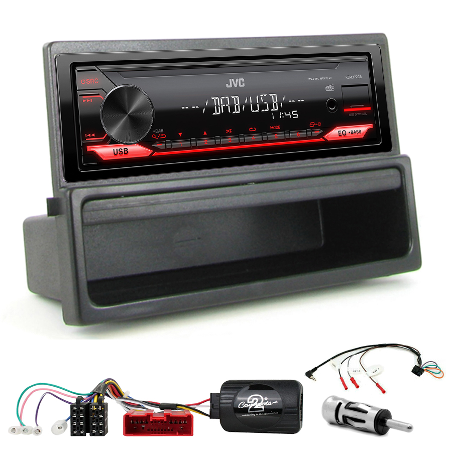 Kit d\'intégration Mazda MX-5 de 2000 à 2005 + Poste 1DIN USB/Bluetooth