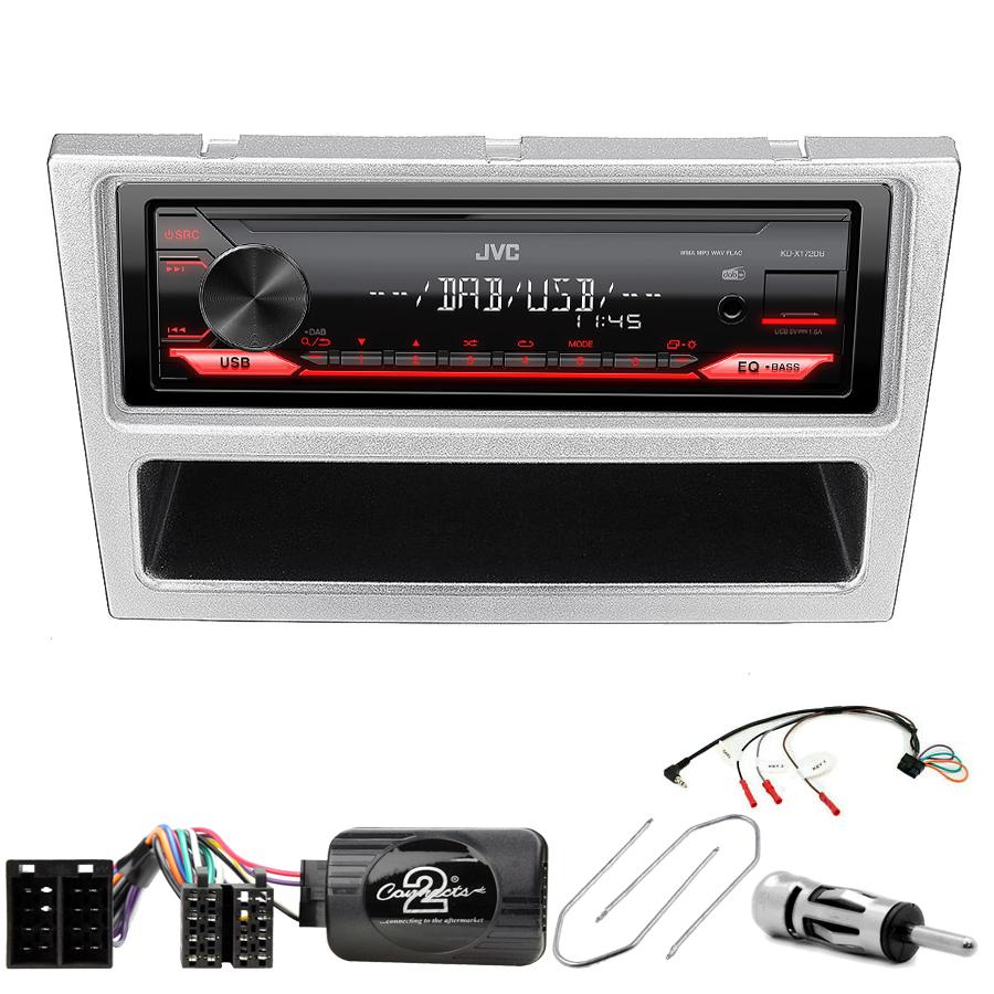 Kit d\'intégration Opel Agila Combo Corsa Meriva Omega Signum Tigra Vectra et Vivaro + Poste 1DIN USB/Bluetooth