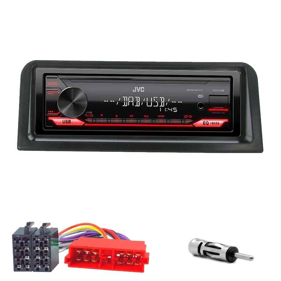 Kit d\'intégration Peugeot 106 de 09/1991 à 2004 + Poste 1DIN USB/Bluetooth