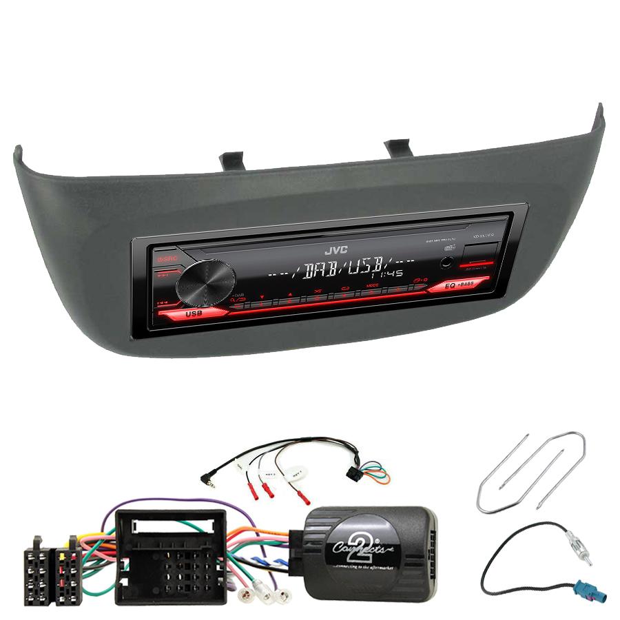 Kit d\'intégration Renault Twingo et Wind + Poste 1DIN USB/Bluetooth