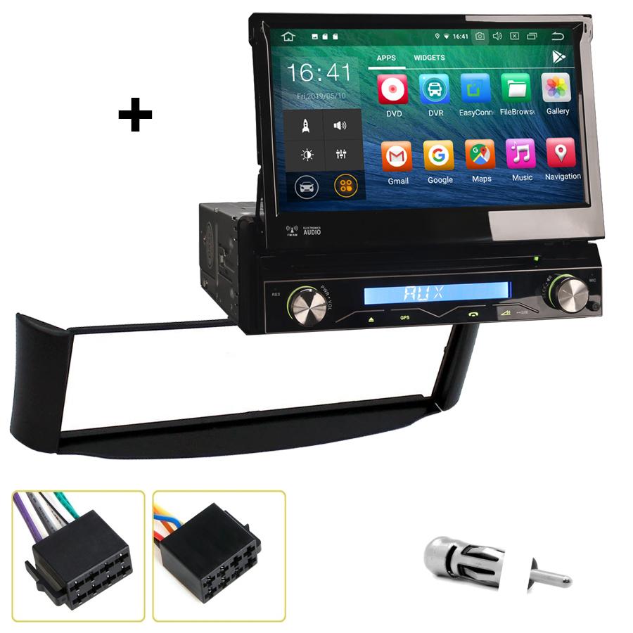Kit d\'intégration Smart ForTwo de 10/1998 à 02/2007 + Poste 1DIN avec écran tactile