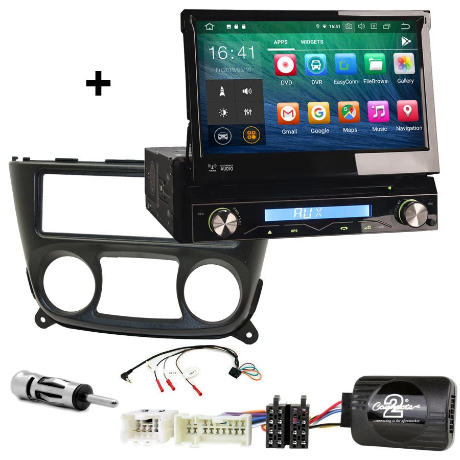 Kit d\'intégration Nissan Almera de 03/2000 à 11/2006 + Poste 1DIN avec écran tactile