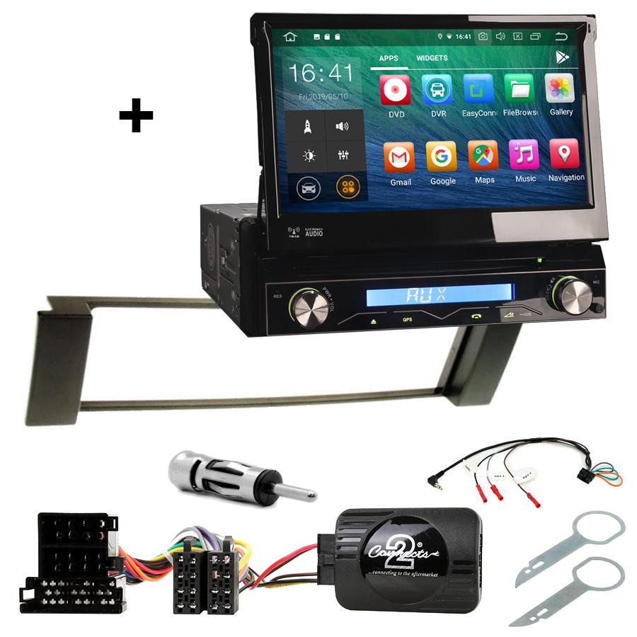 Kit d\'intégration Audi A3 et Audi A6 + Poste 1DIN avec écran tactile