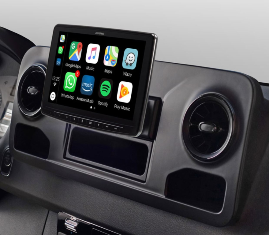Alpine Style pour Mercedes Sprinter W907 depuis 2018 - Waze, Apple Carplay et Android Auto - iLX-F903S907