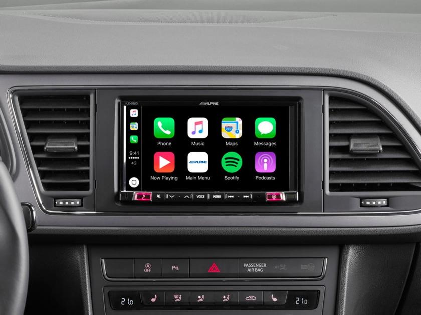 Alpine Style iLX-702DLEON ou INE-W720LEON pour Seat Leon et Ateca de 2012 à 2019 - Apple Carplay, GPS Waze
