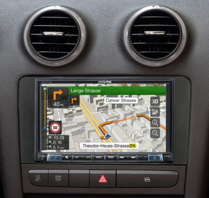 Alpine Style pour Audi A3 - GPS, Apple Carplay et Android Auto - INE-W720A3 ou X803D-U + KIT-8A3 au choix