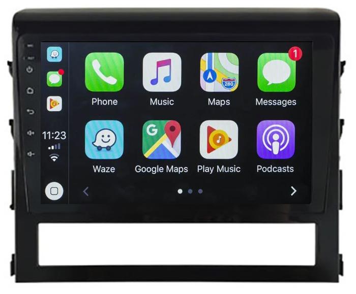 Ecran tactile QLED Android 10.0 + Apple Carplay sans fil Toyota Land Cruiser depuis 2016