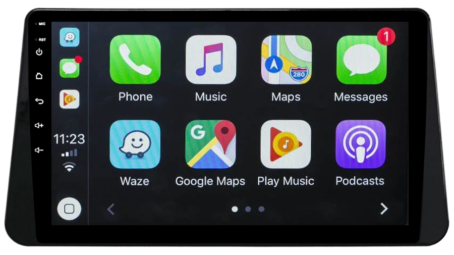 Ecran tactile Android 10.0 + Apple Carplay sans fil Nissan Micra depuis 2017