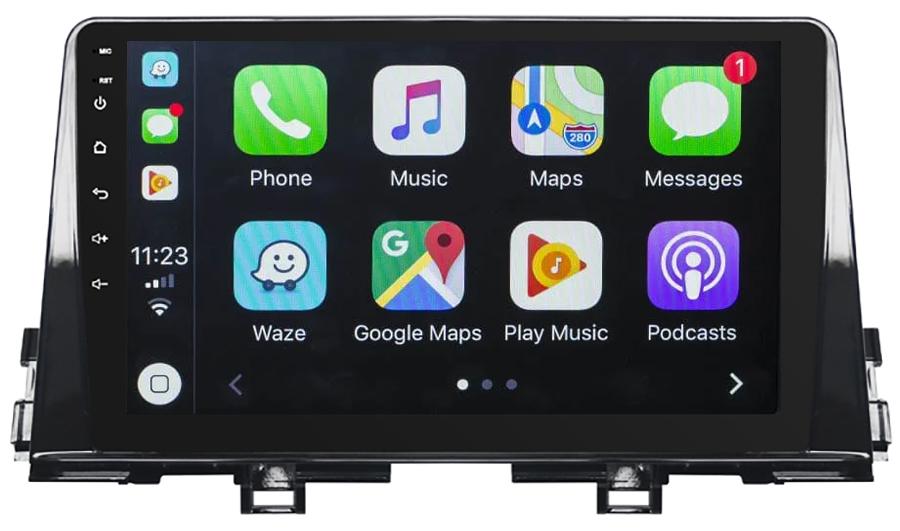 Ecran tactile Android 10.0 + Apple Carplay via USB Kia Picanto depuis 2017