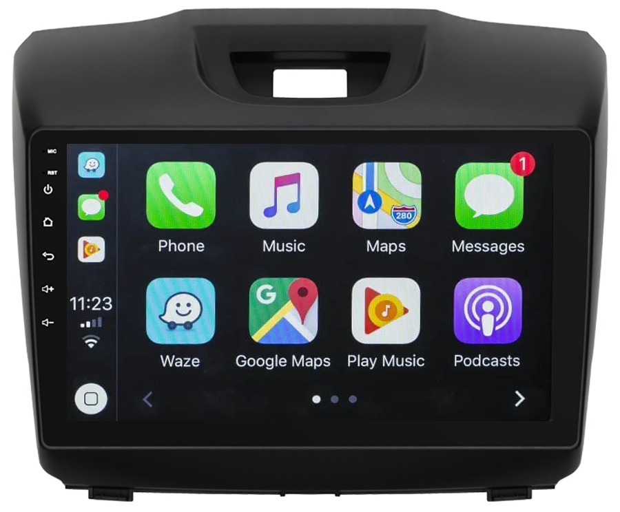 Ecran tactile QLED Android 10.0 + Apple Carplay sans fil Chevrolet Trailblazer de 2012 à 2018