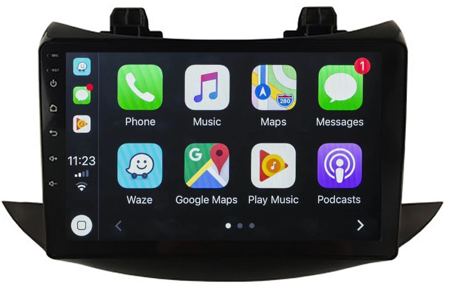 Ecran tactile QLED Android 10.0 + Apple Carplay sans fil Chevrolet Trax depuis 2017