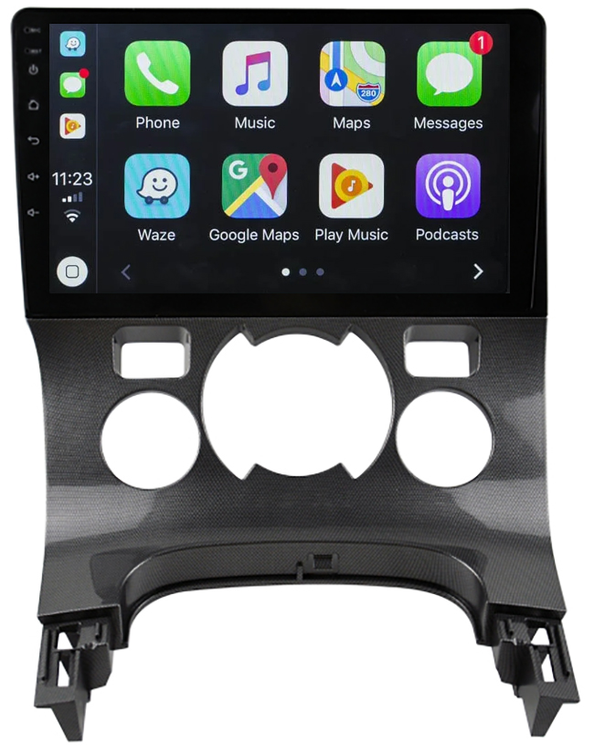 Ecran tactile Android 10.0 + Apple Carplay via USB Peugeot 3008 de 2009 à 2016