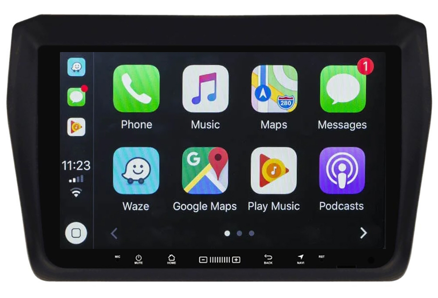 Ecran tactile Android 10.0 + Apple Carplay sans fil Suzuki Swift depuis 2017