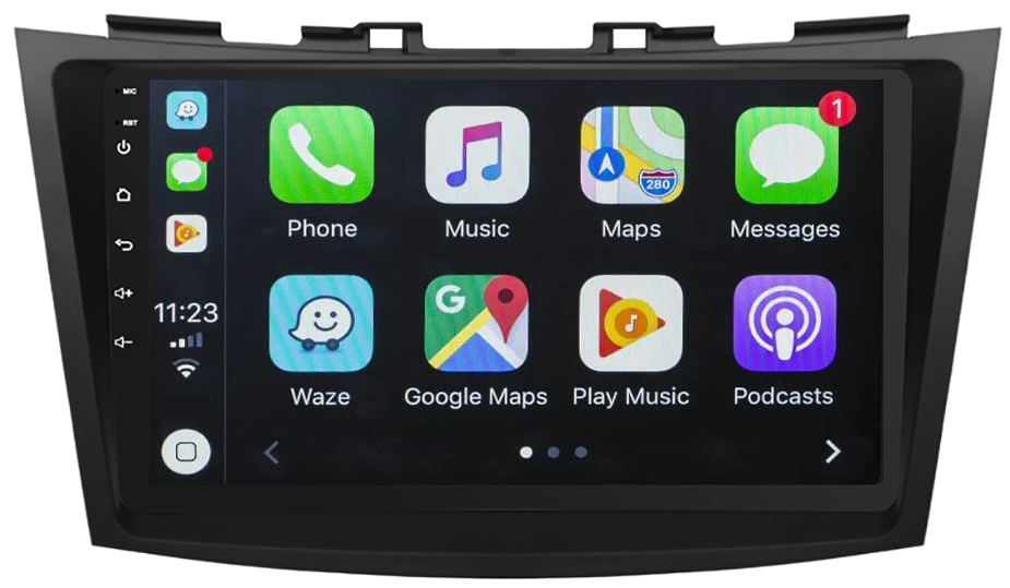 Ecran tactile Android 10.0 + Apple Carplay sans fil Suzuki Swift de 09/2010 à 2017