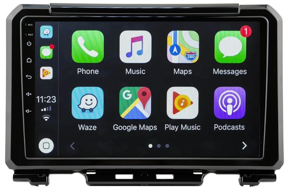 Ecran tactile QLED Android 10.0 + Apple Carplay sans fil Suzuki Jimny depuis 2019