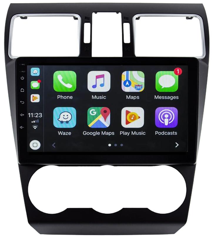 Ecran tactile Android 10.0 + Apple Carplay sans fil Subaru Forester de 2013 à 2018