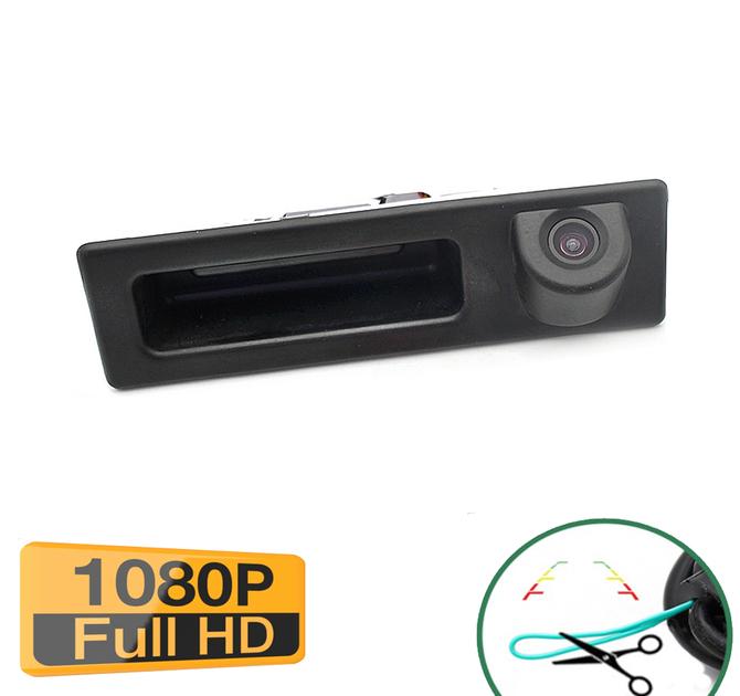 Caméra de recul avec ouverture du coffre pour BMW X1 et BMW X3 de 2018 à 2019 - qualité Full HD 1080P