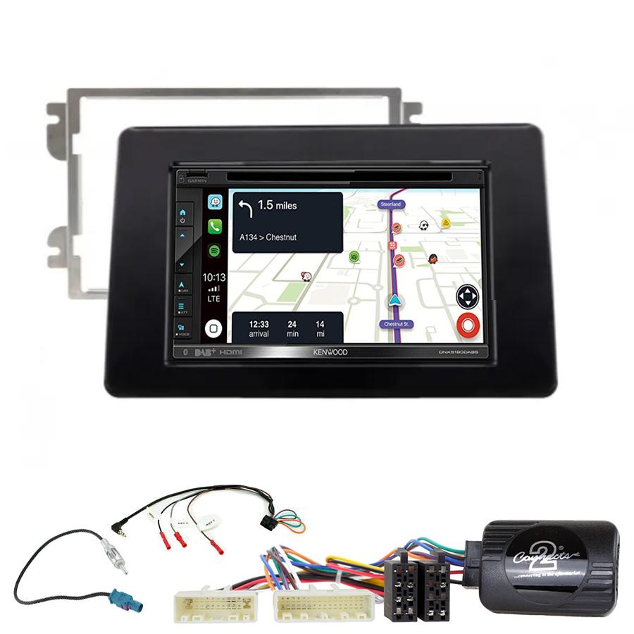 Kit d\'intégration Renault Master depuis 11/2019 + Autoradio tactile Navigation GPS