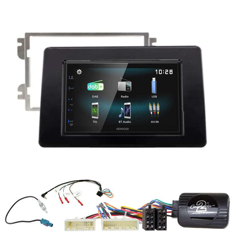 Kit d\'intégration Nissan NV400 depuis 11/2019 + Autoradio multimédia à écran tactile
