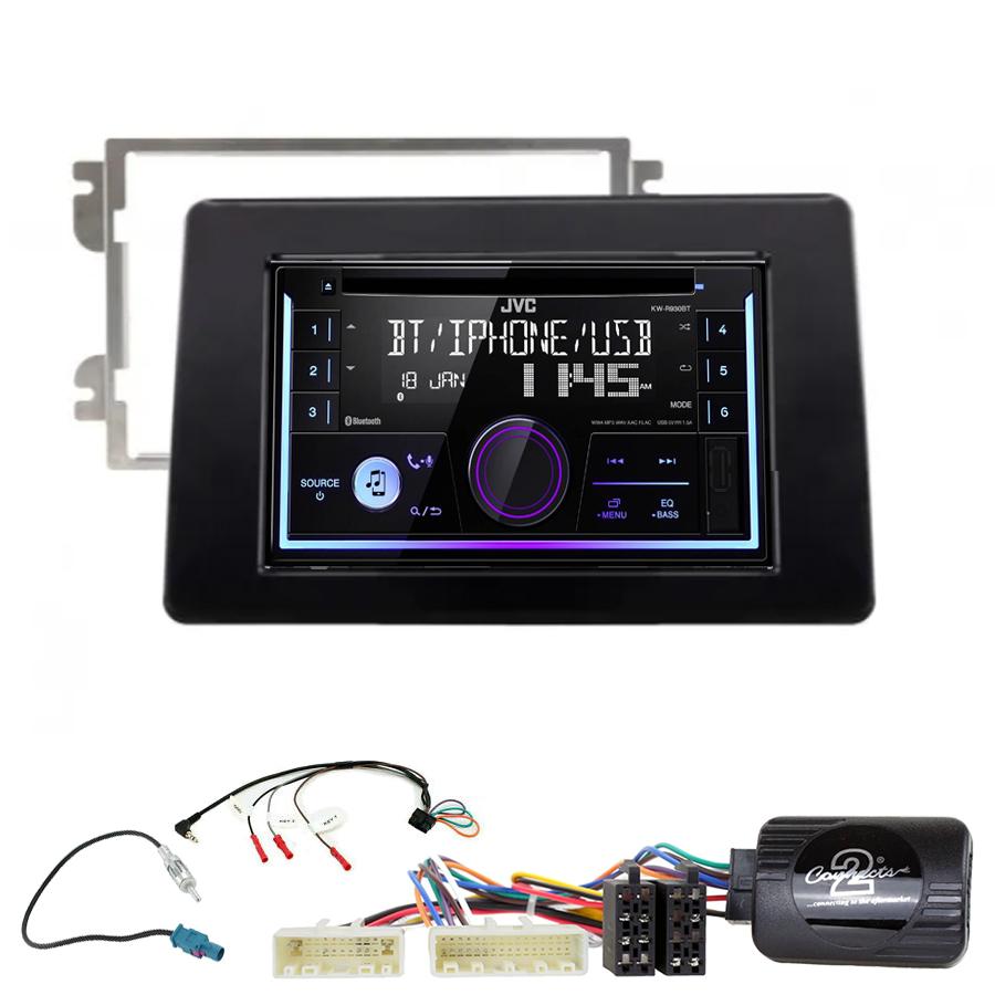 Kit d\'intégration Nissan NV400 depuis 11/2019 + Autoradio multimédia USB/Bluetooth