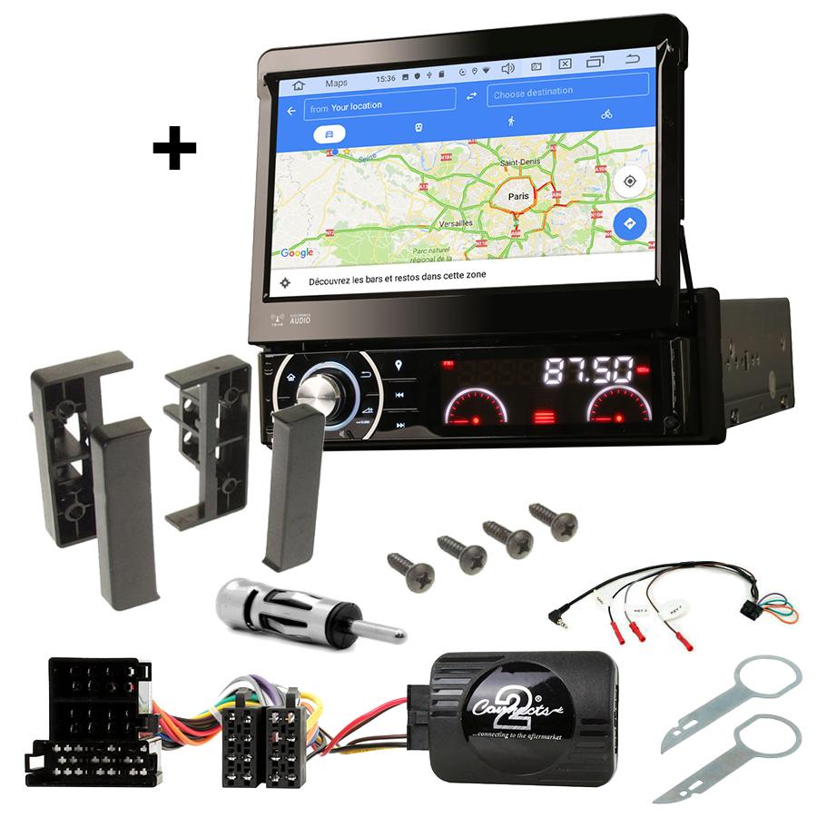 Kit d\'intégration Audi A2, Audi A3, Audi A4 et Audi A6 + Poste 1DIN avec écran tactile