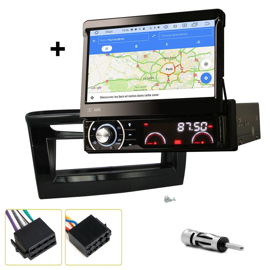 Kit d\'intégration Lancia Ypsilon depuis 2012 + Poste 1DIN avec écran tactile