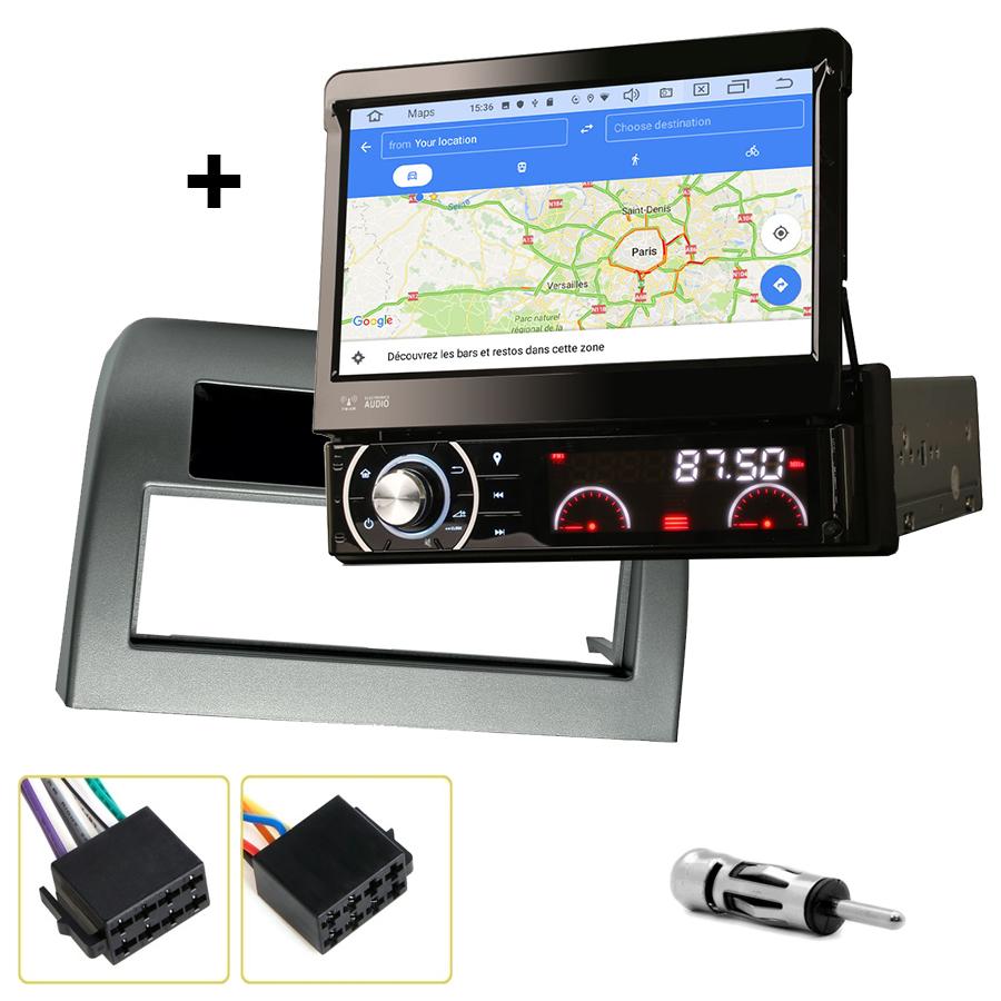 Kit d\'intégration Lancia Ypsilon de 2003 à 2011 + Poste 1DIN avec écran tactile