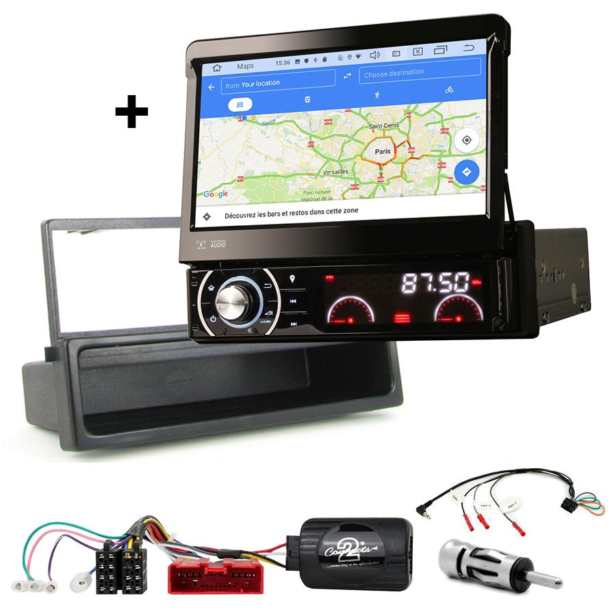 Kit d\'intégration Mazda MX-5 de 2000 à 2005 + Poste 1DIN avec écran tactile