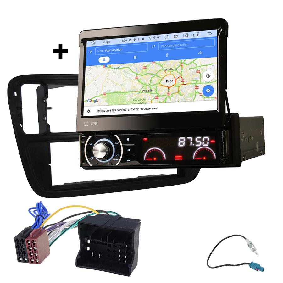Kit d\'intégration Volkswagen Up de 2013 à 2018 + Poste 1DIN avec écran tactile
