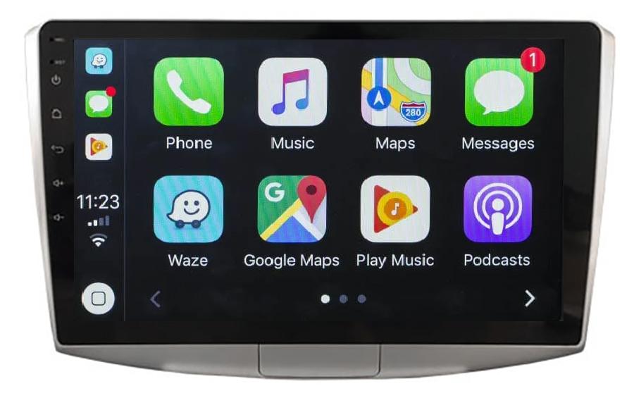Ecran tactile QLED Android 11.0 Apple Carplay sans fil Volkswagen Passat de 2012 à 2015