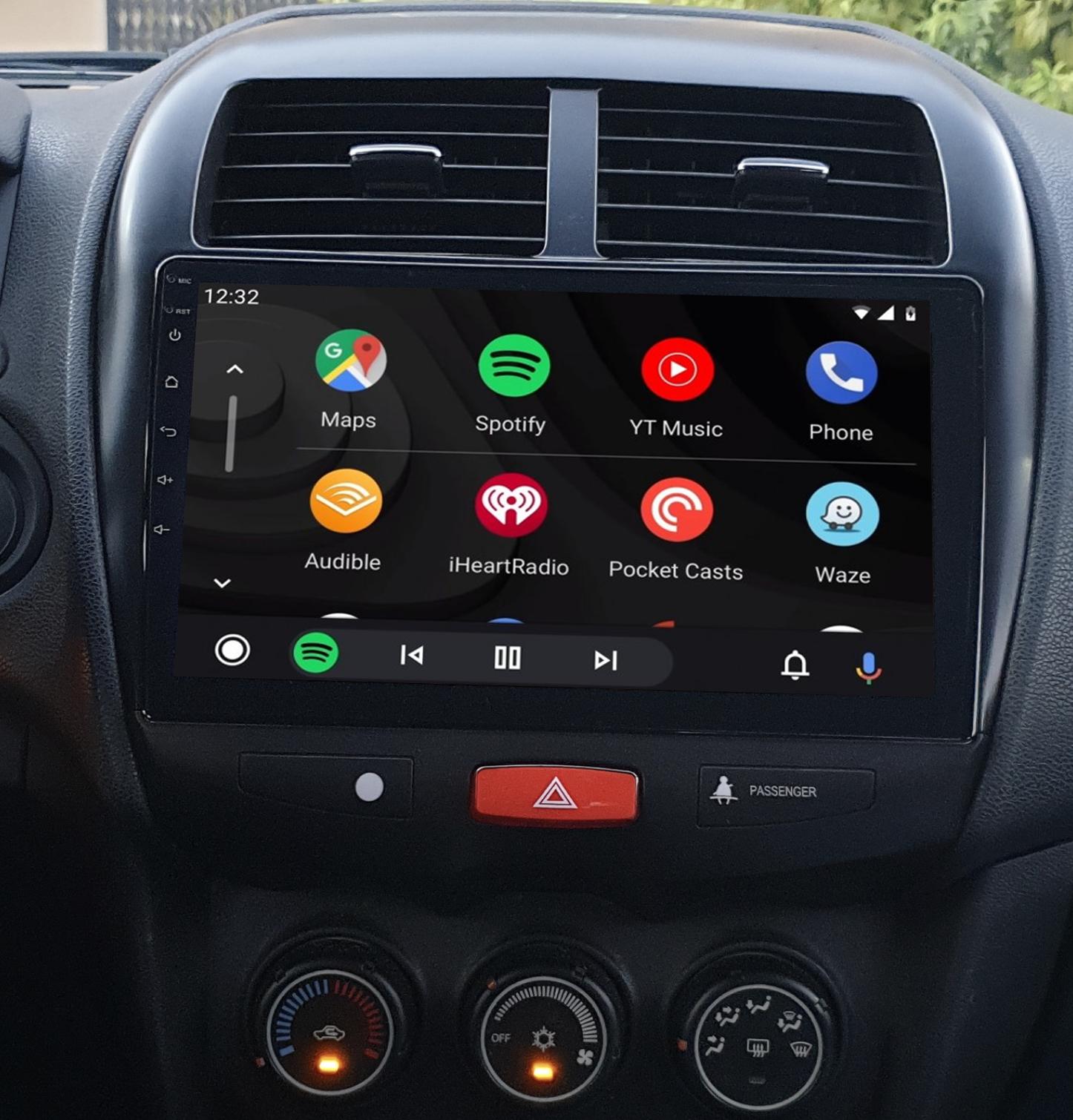 Ecran tactile QLED Android 11.0 + Apple Carplay sans fil Citroën C4 Aircross de 2012 à 2017