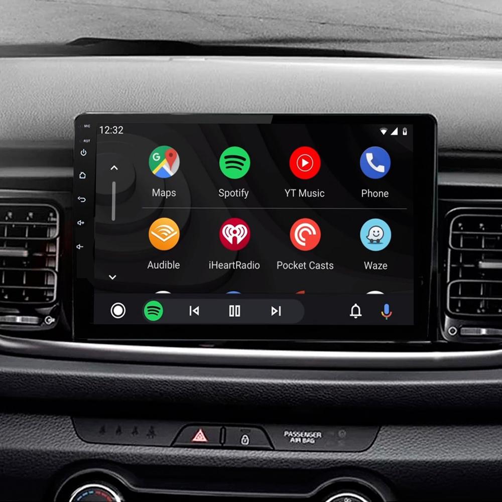 Ecran tactile Android 11.0 + Apple Carplay via USB Kia Rio et Kia Stonic depuis 2017