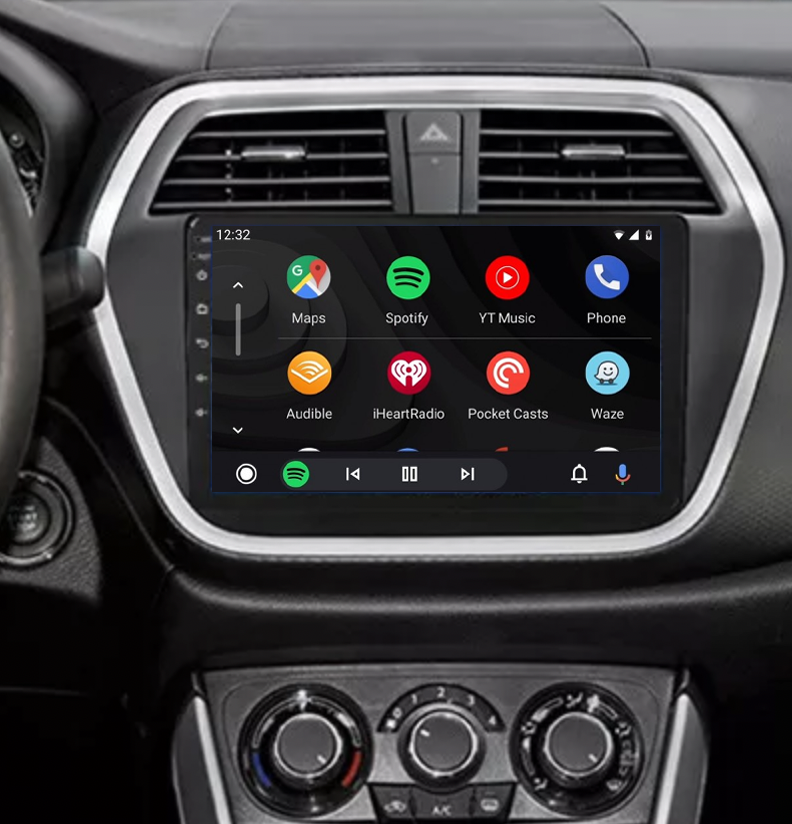 Ecran tactile QLED Android 11.0 + Apple Carplay sans fil Suzuki SX4 S-Cross depuis 2013