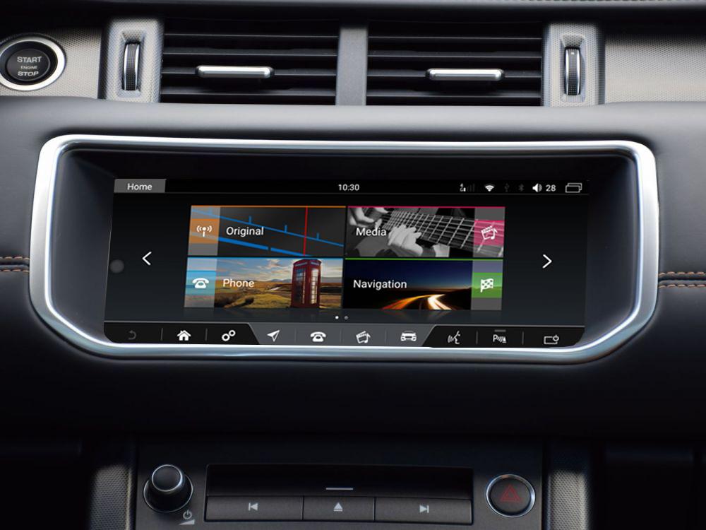 écran tactile QLED Android 10.0 et Apple Carplay sans fil Range Rover Evoque de 2011 à 2018