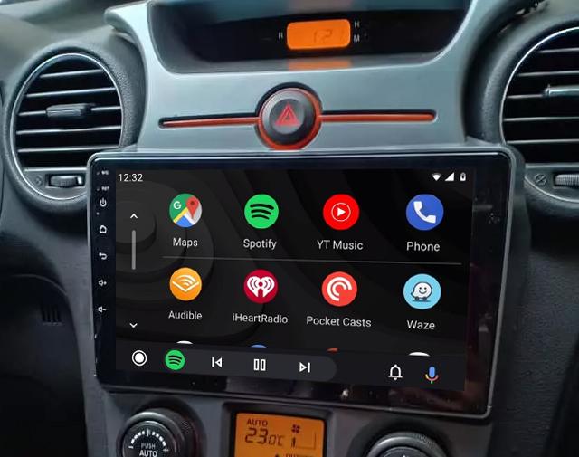 écran tactile QLED Android 11.0 et Apple Carplay sans fil Kia Carens de 2007 à 2011