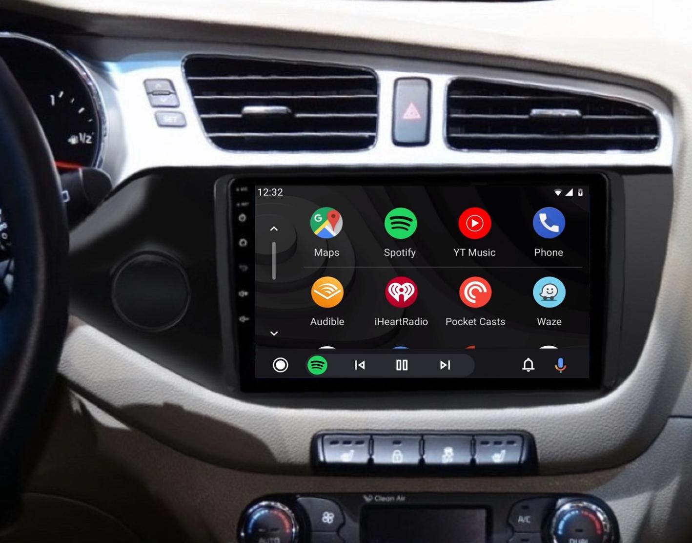 écran tactile QLED Android et Apple Carplay sans fil Kia Cee\'d de 04/2012 à 2018