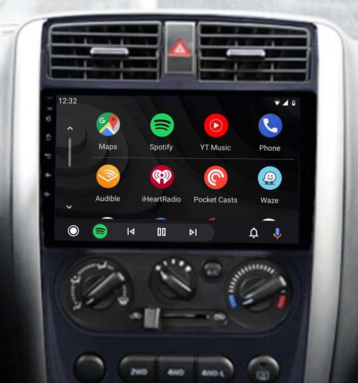 écran tactile QLED Android 11.0 et Apple Carplay sans fil Suzuki Jimny de 2006 à 2017