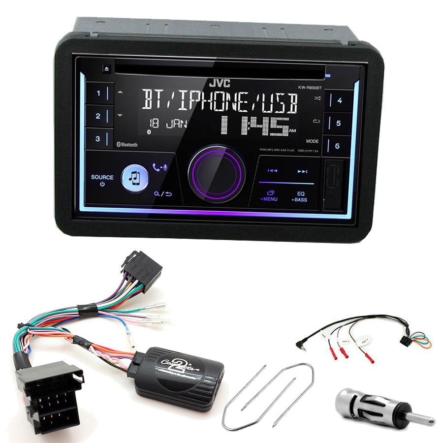 Kit d\'intégration Alfa Romeo 159, Brera et Spider + Autoradio multimédia USB/Bluetooth
