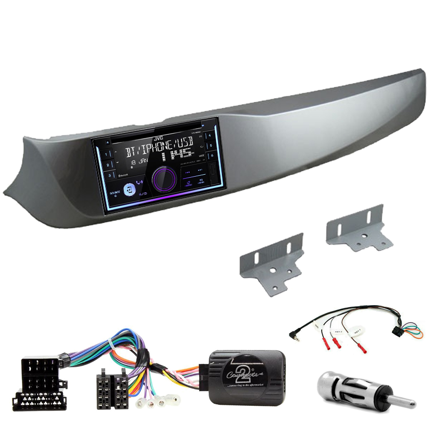 Kit d\'intégration Alfa Romeo Giulietta de 2010 à 2013 + Autoradio multimédia USB/Bluetooth