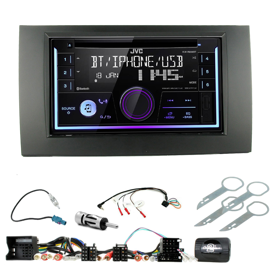 Kit d\'intégration Seat Exeo + Autoradio multimédia USB/Bluetooth