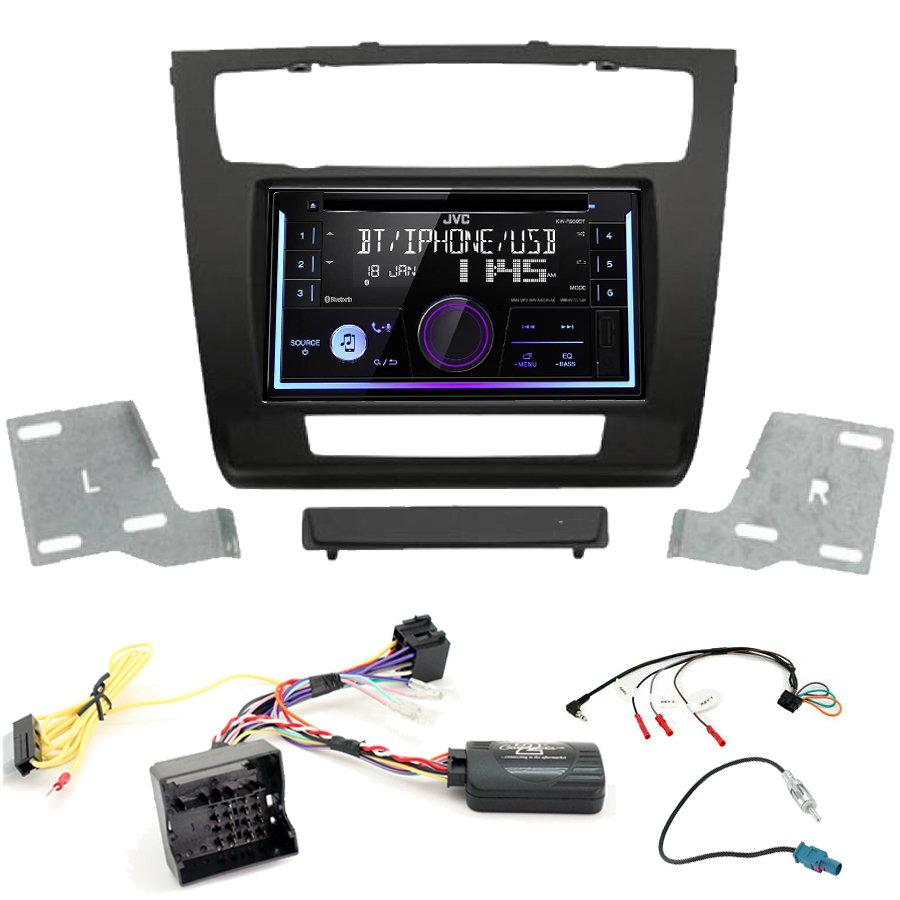 Kit d\'intégration BMW Série 1 + Autoradio multimédia USB/Bluetooth